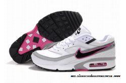 air max bw femme noir et rose